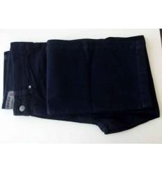 Calca jeans tradicional, azul escuro, 100% algodão, cód 1268