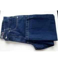 Calça jeans azul tradicional, 100% de algodão, cód 1268