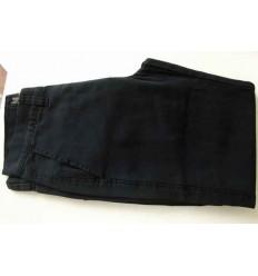 Calca esporte fino, preta, 100% algodão, cód 1397