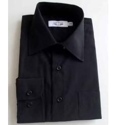 Camisa preta, manga longa, passa fácil - cód. 996