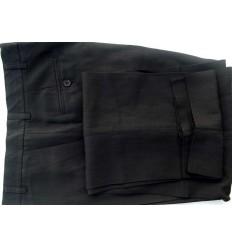 Calça preta, social em tecido de casimira magnetado, cod 1380