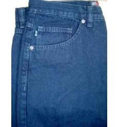 Calça jeans, azul escuro, tecido de ótima qualidade - cód. 1230