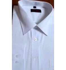 Camisa manga longa, branca, passa fácil, cod. 672