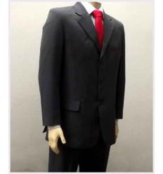Costume cinza, corte italiano em gasimira importada, cód 795G