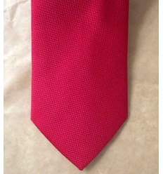 Gravata longa tradicional, vermelha, tecido nobre. Cód. 1338