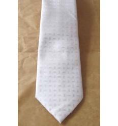 Gravata creme, longa tradicional, design moderno da nova coleção, Cod. 1338