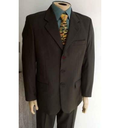 Costume extra grande, risca de giz em casimira de ótima qualidade, cod 941