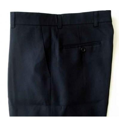 Fredao Moda Masculina Calça extra-grande preta da linha social, em tecido 100% poliéster, cód 1248 Entrega imediata com todas