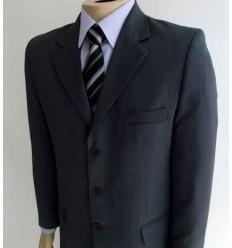 Terno extra-grande cinza, corte italiano da coleção plus size, Ref.  941