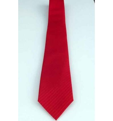 Gravata vermelha, com detalhe diagonal, modelo tradicional longo, cód 374DD Entrega imediata com todas garantias da Empresa Fr