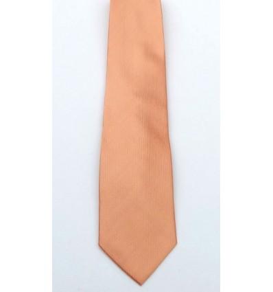 Gravata de jacquard, cor salmão, de ótima qualidade em promoção. Cód 1338