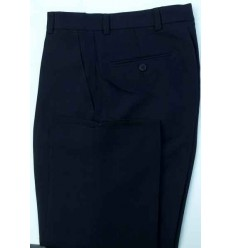 Calça masculina azul escuro modelo tradicional, ref. 1380