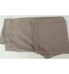 Calça esporte fino, cor kaki em tecido de algodão de ótima qualidade, cód 1079