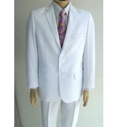 Terno branco modelo de 2 botões, corte tradicional de ótima qualidade,  cód 1426