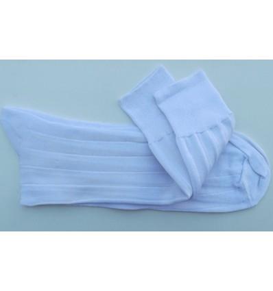 Meias brancas de algodão fio escócia,  Ref 561B Entrega imediata com todas garantias da Empresa Fredao