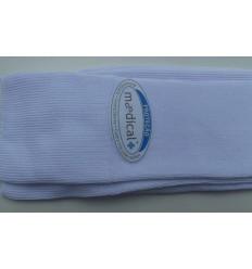 Meias brancas caqui em 70% algodão e 30% poliamida, medical, cód  883 Entrega imediata com todas garantias da Empresa Fredao