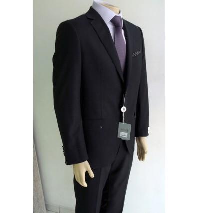 Fredao Moda Masculina Costume preto, modelo italiano e de 2 botões da coleção importada, cor preta, cód 1490 Entrega imediat