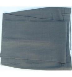 Calça social cor cinza em tecido de casimira magnetado, cod 1380