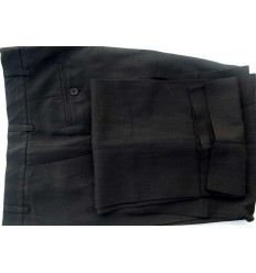 Calça preta, social em tecido de panamá de ótima qualidade, cód 1385