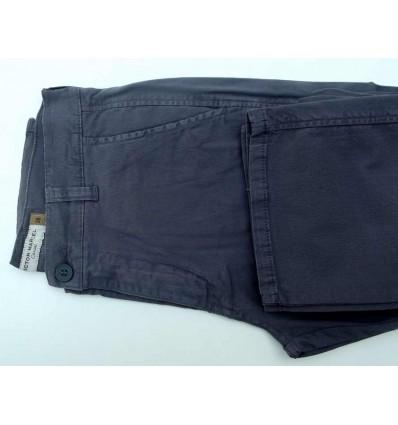 Calca esporte fino, cor cinza, linha casual, 98% algodão, 2% elastano,  Cod. 1445