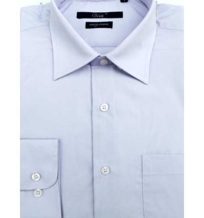 Camisa azul clara, manga longa em tecido passa fácil, padrão exportação,  Cód. 996 Entrega imediata com todas garantias da