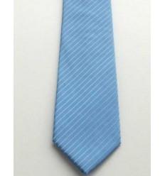 Gravata azul tradicional longa de ótima qualidade, perfeito caimento com ótima qualidade, cód 374-AF