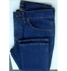 Calça Pierre Cardim, Extra Grande, tradicional, cor azul, coleção nova. Cod 1545
