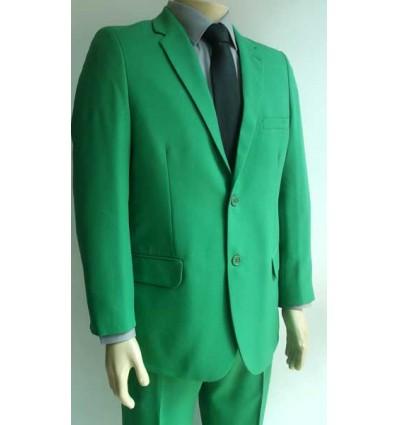 Fredao Moda Masculina Terno verde de microfibra oxford de 2 botões. Ref. 1364 Entrega imediata com todas garantias da Empresa F