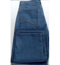 Grife Pierre Cardin Calça Pierre Cardim com elastano, tradicional, cor azul claro, coleção nova. Cod 1544 Entrega imediata co