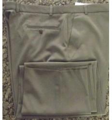 Calça extra grande, cáqui, linha social de poliéster de ótima qualidade, cod. 611