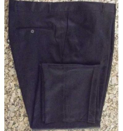 Calça extra grande, cor azul escuro de poliéster da linha social, cod. 611