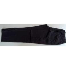 Calca cargo tamanho grande com seis bolsos, cor cinza em tecido 100% de algodão, cód 1301