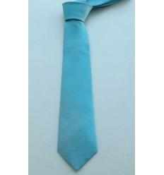 Gravata azul tifany em jacquard com forro de poliéster modelo longo, 1474T