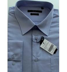 Camisa Extra Grande da coleção Plus Size, manga longa, passa fácil, cor lilás, cód 1461