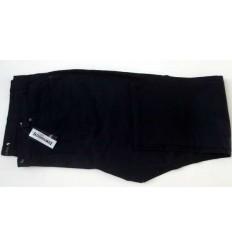Calça Pierre Cardin Plus Size, padrão exportação em tecido sarja com elastano de ótima qualidade, cor preta, cod 1565