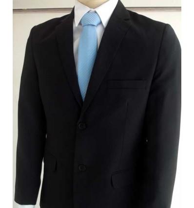 Fredao Moda Masculina Terno Plus Size Preto (Extra Grande), Corte Italiano com duas aberturas atrás e dois botões em oxford ,