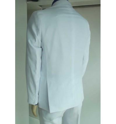 Fredao Moda Masculina Terno branco corte Italiano de Gabardine. Ref 1600 Entrega imediata com todas garantias da Empresa Fredao