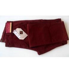 Calça slim masculina estonada com telha em tecido de composição 98% de Algodão e 2% Elastano, cód 1461
