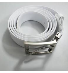 Cinto branco de sitetico com ótima qualidade, Cód 948 Entrega imediata