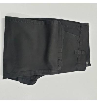 Calça esporte fino, preta de algodão, Ref 1079 Entrega imediata