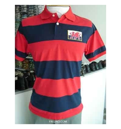 e234810af9fa0 Camiseta gola polo de algodão na cor vermelha. Ótima coleção em ...