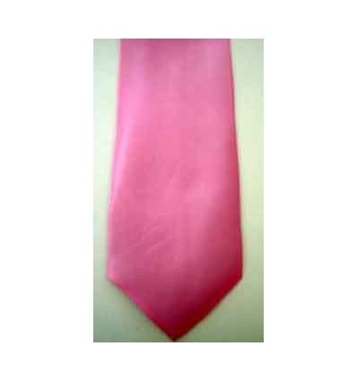Gravata longa, cor rosa, de ótima qualidade. Cód 961R