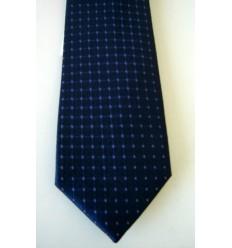 Gravata preta de microfibra, longa tradicional, Cód. 374A