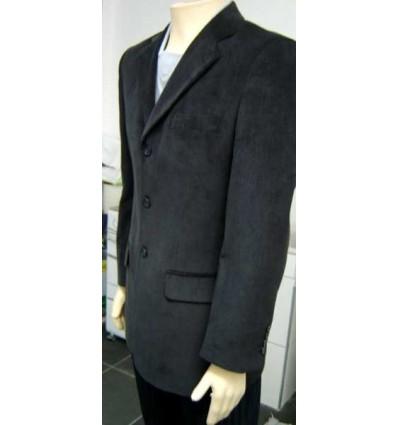 Blazer Pierre Cardin, preto, modelo inglês com abertura atrás, cód 596
