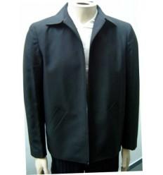 Jaqueta preta, modelo caban em microfibra oxford de ótima qualidade, cód 1067