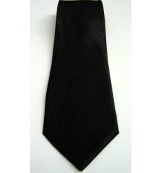 Gravata preta, longa em tecido escama, tradicional, Cód 961PT