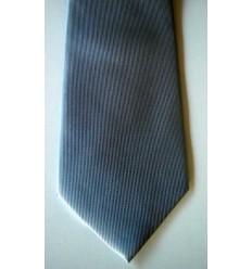 Gravata prata, longa em tecido de ótima qualidade, Cód 374.A3