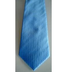 Gravata azul tradicional longa de ótima qualidade com perfeito caimento, cód 374.A6