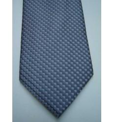 Gravata cinza, design atualizado em poliéster. Cód 374-CF