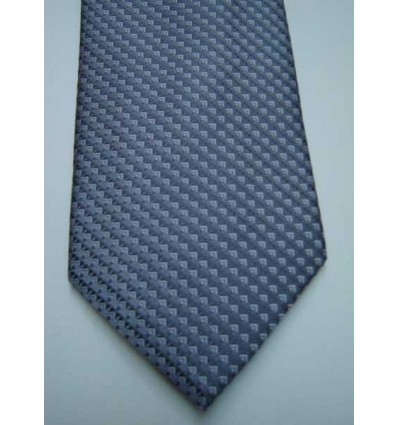 Gravata cinza, design atualizado em poliéster. Cód 374-CF Entrega imediata